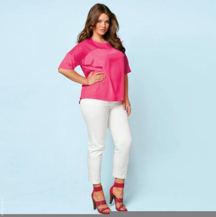 df00161ea35 Colores eléctricos para la ropa de mujeres de tallas grandes