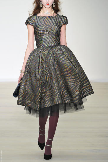 Ready to wear fall winter 2013 Vivienne Westwood Red Label London February 2013
