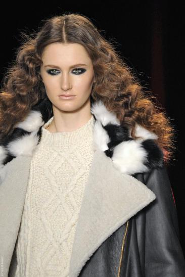 Ready to Wear Fall Winter 2013 Just Cavalli Milan Fashion Week Feb 2013